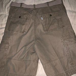 Levi's men's snap cargo shorts W38
